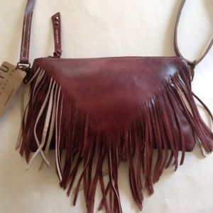 Bedstu  Silverrock Leather fringe crossbody